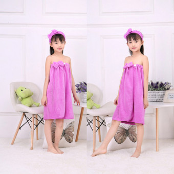 Cotton shower beach towel bathrobe Dance clothes towel