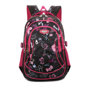Cute campus backpack young student's school bag