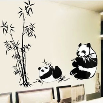 Cute office bedroom living room decorative adhesive paper wall sticker