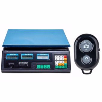 Digital Price Computing Scale (Black) with Remote Camera Control