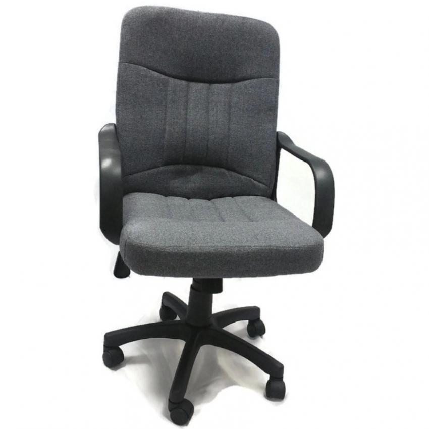 ergonomist mid back executive office chair with arms grey - Office Chairs For Fat Guys