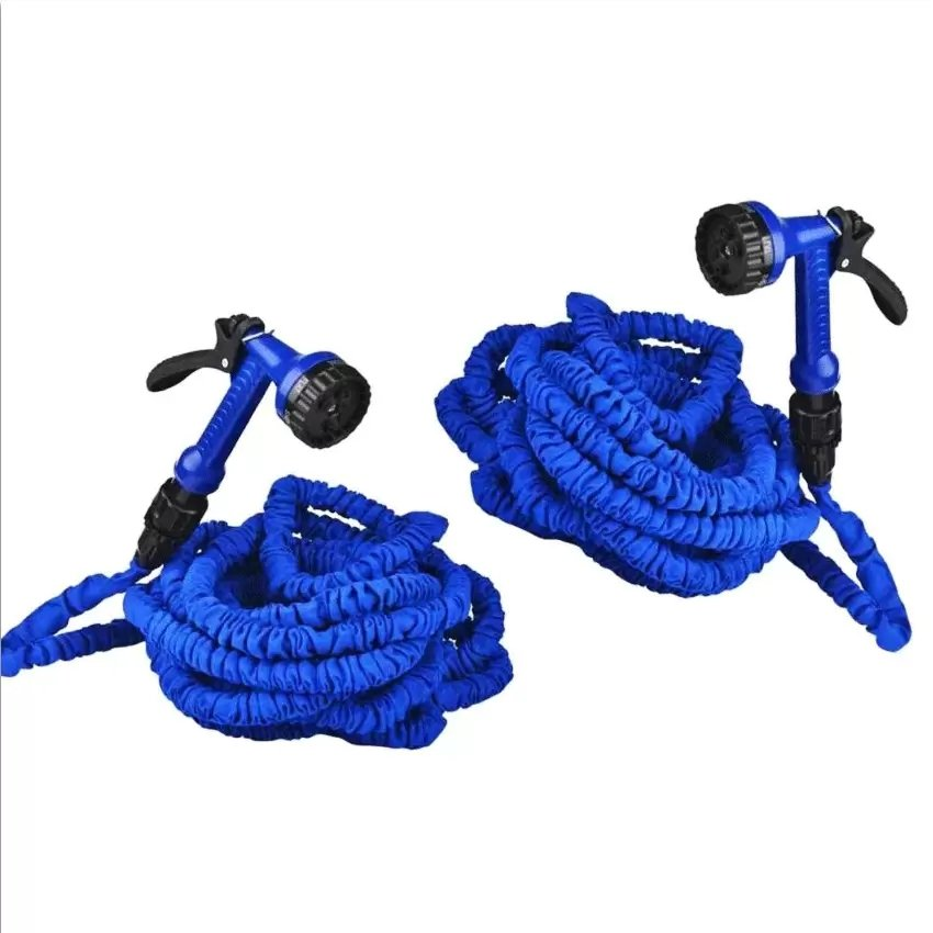 Expandable Flexible 100ft Garden Hose Blue Set Of 2 Lazada PH