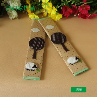 Floral multi-refrigerator hand door handle cover door to cover