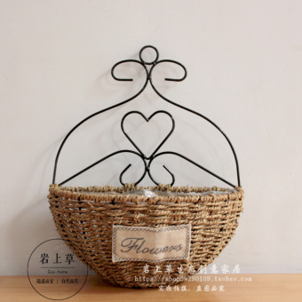 Garden flower pot shop decorative products hanging basket