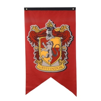 Gryffindor Hufflepuff Slytherin Ravenclaw Hogwarts Harry House Banners Flag - intl