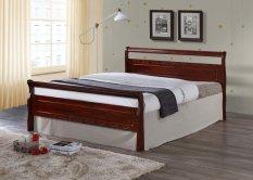 hapihomes monalisa solid 48 x 75 wood bed frame