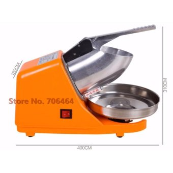 Heavy Duty Commercial Portable Electric Ice Crusher Ice Shaver Single Blade
