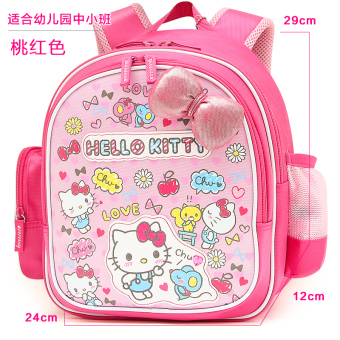 Hello Kitty kindergarten female school bag backpack school bag