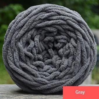 High Quality Store New 100g Arts Accessories Soft Knitting ChunkyTowelling Wool Ball Skein Scarf Yarn Pure Color Cute