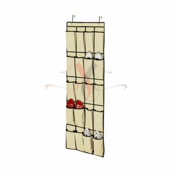 J&J Hanging Over the Door Shoe Organizer