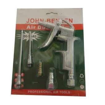 John Benzen dg10ad Air Duster with Adapters (Silver)