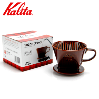 Kalita coffee fan hand punch filter cup