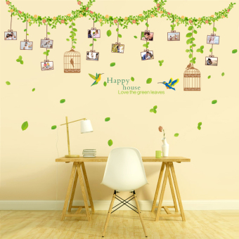 Living room wall room decor sticker wall adhesive paper