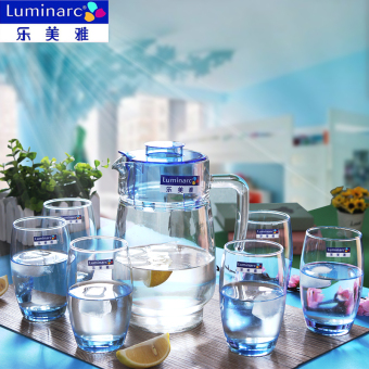 Luminarc Transparent Heat-resistant home glass pot glass of cold water bottle