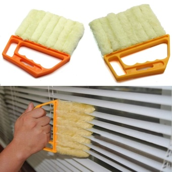 Microfibre Brush Window Air Conditioner Duster Dirt Cleaner Home Cleaning Tool - intl