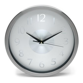 "Modern Lifestyle 12"" Aluminum Wall Clock"