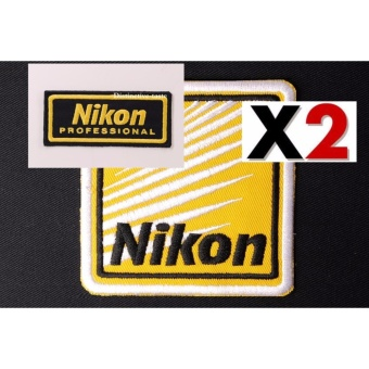 Nikon Cloth Badge Embroidered Cloth Patch Set (Get 2)