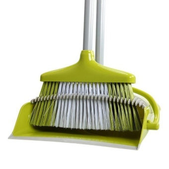 Ocean New Broom Dustpan Combination Household Cleaning Soft(Yellow)- intl