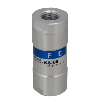 One Way Pneumatic Check Valve (Silver)