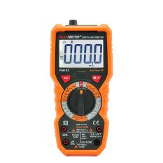 PHP 1.902. PEAKMETER True RMS Digital Multimeter Measuring AC/DC Voltage Current Resistance Capacitance Frequency Temperature ...