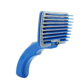 Pet Dog Cat Grooming Shedding Hair Cleaning Brush Comb Fur Tool