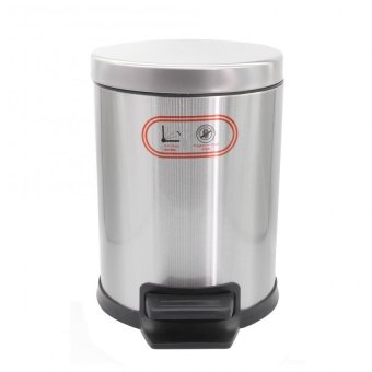 PhoenixHub Trash Food Waste Garbage Can Bin Soft Close Bin(Silver)ST-5L