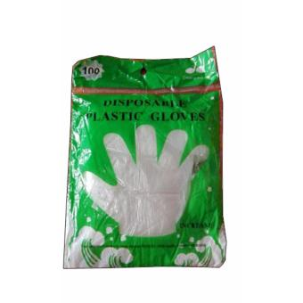 Plastic Gloves Disposable (Large)