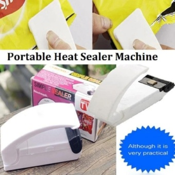 Portable Household Mini Sealing Machine Heat Sealer Capper Food Saver For Plastic Bags Package Mini Gadgets - intl