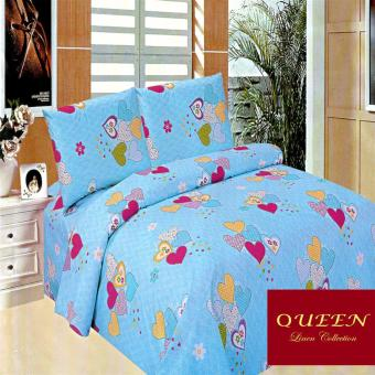 Queen Classic Linen Collection Fitted Bedsheet Set of 3(AOIE-058)