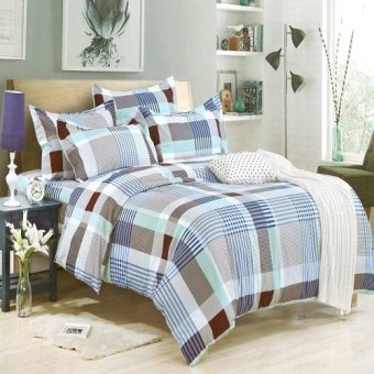Queen's Special Classic Linen Collection Fitted Bedsheet Set(BBL-0127)