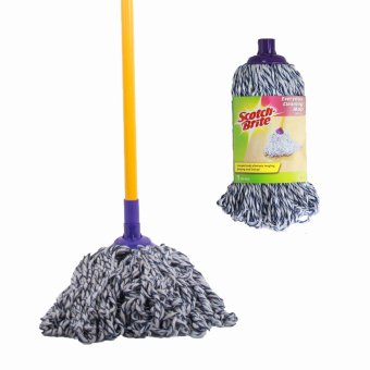 Scotch-Brite Everyday Cleaning Mop Set (Yellow) + Refill
