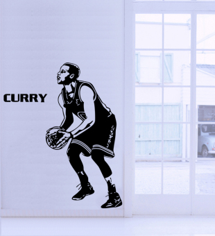 Shiningstar nba basketball wall adhesive paper