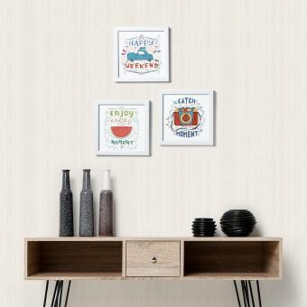 SM Home 3-piece Motivational Wall Art Set