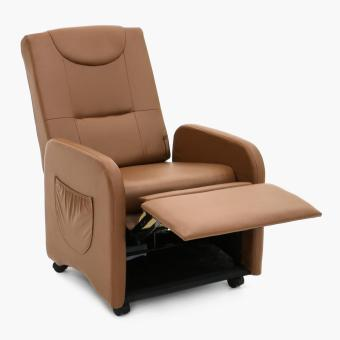 SM Home Anthro Ciao Foldable Recliner Chair (Taupe)