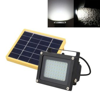 Solar Powered 54 LED Dusk-to-Dawn Sensor Waterproof OutdoorSecurity Flood Light - intl