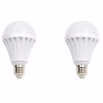 Sonic LED Emergency Rechargeable Bulb 12 Watts Set of 2