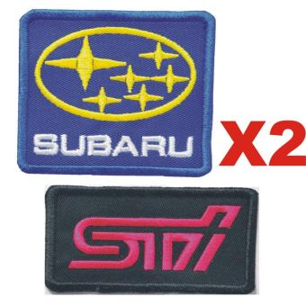 Subaru STI Embroidered Cloth Patch Badge (Get 2)