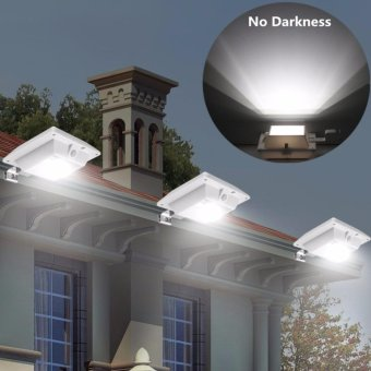 Super Bright PIR Motion Sensor Waterproof Wireless Security LightLamp For Outdoor Garden Wall Yard Deck Auto On / Off Dusk to Dawn -intl
