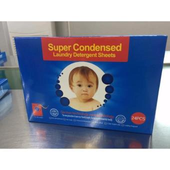 Super Condensed Laundry Detergent Sheets 24 Pcs in 1 Box
