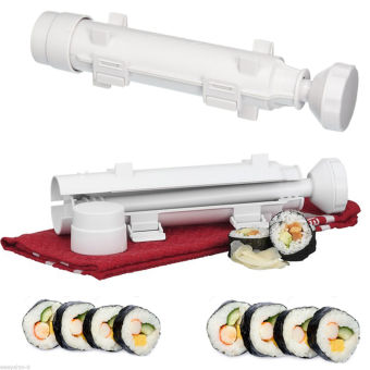 Sushi Maker Sushezi Made Camp kit Bazooka easy rolls roller Chef Sushi - intl