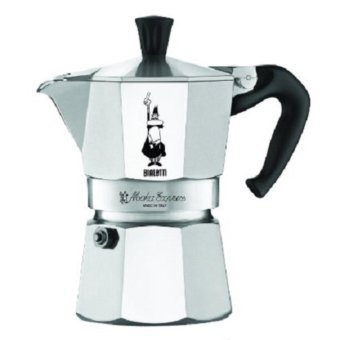 The Original Bialetti Moka Express Made in Italy 6-Cup StovetopEspresso Maker with Patented Valve - intl