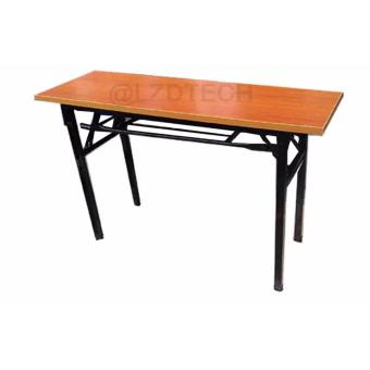 Training Table Foldable 1.2m, Computer Laptop, Study or working table (beech)