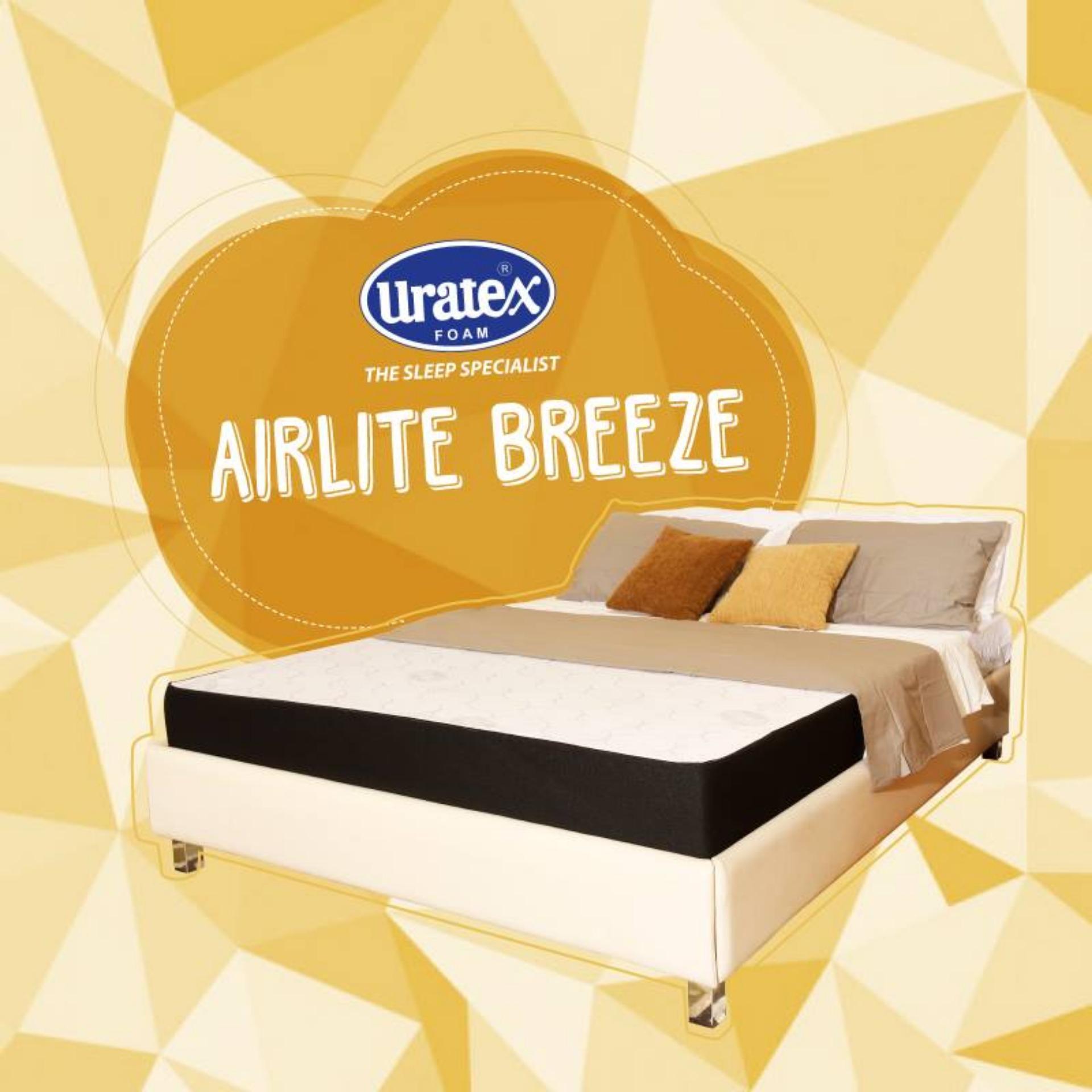 Crib mattress for sale philippines - Uratex Airlite Mattress Breeze 6x60x75 Blue