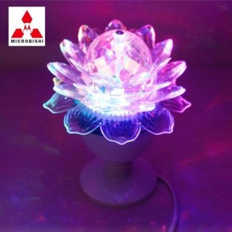 Verygood-Microbishi Led Crystal Magic Ball Light for Party Disco DJMD-999 Flower Design