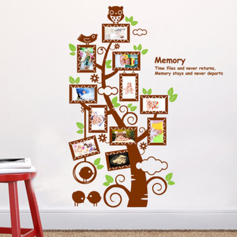 Warm bedroom dormitory bedside wall adhesive paper wall stickers