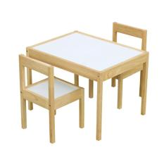 weext kid study table set natural