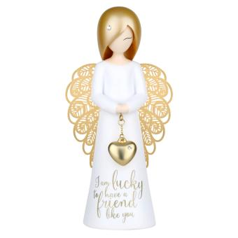 'You are An Angel' 125mm Angel Figurine Gold Wings