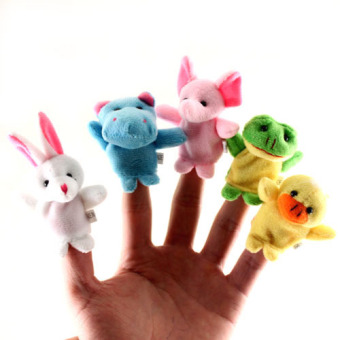 Babies' Early Childhood Education Hand Puppets Toy