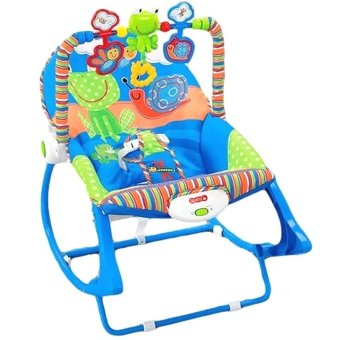 Baby 68110 Infant To Toddler Rocker Frog Design (Blue/Green)