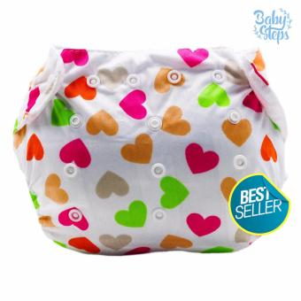BABY STEPS KittyHearts Baby Diapers